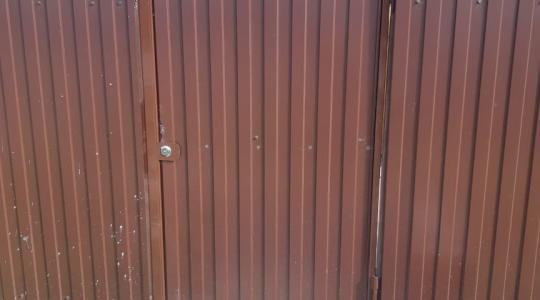 Установили в г. Одоев  откатные автоматические ворота