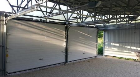 Базовая комплектация гаражных секционных ворот