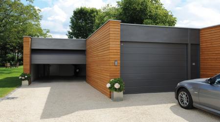 Элитные автоматические ворота для гаража