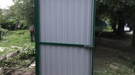 Монтаж калитки и установку распашных ворот в городе Чекалин